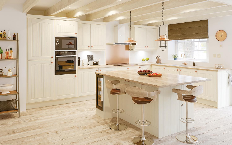 Vinyl Classic Style Kitchen