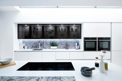 Harrison & Fletcher - Feature Glazed Black Door