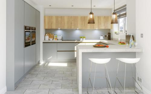 Harrison & Fletcher - Glacier Modern Kitchen 2