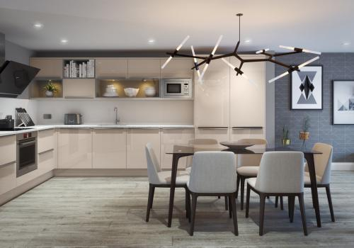 Harrison & Fletcher - Mode Modern Kitchen 1