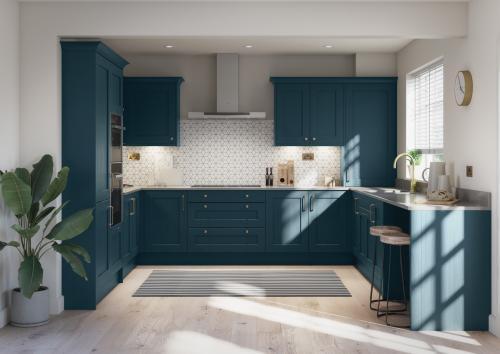 Harrison & Fletcher - Mornington Shaker Classic Kitchen 1