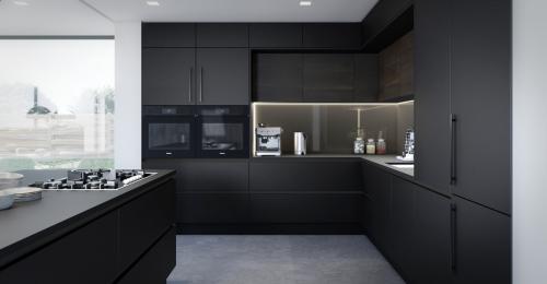 Harrison & Fletcher - Porter Modern Kitchen 1