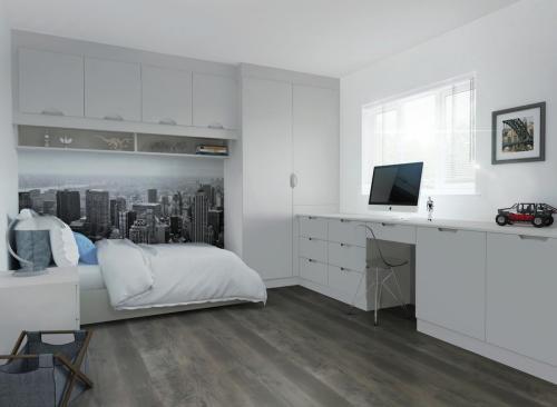 Harrison & Fletcher - Vinyl Style Bedroom 4